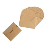 B2169 Envelopes: Small Scalloped Edge: Pack of 12